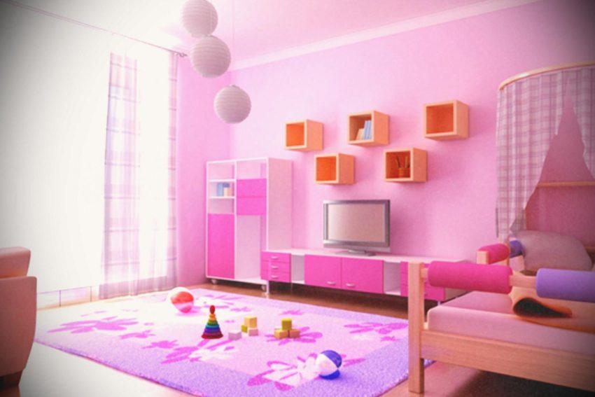 pokoj dziewczynki zrealizowany przez projektant wnetrz
